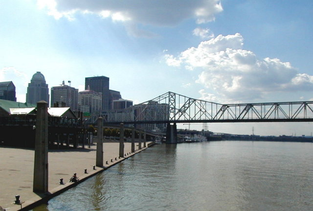 Louisville river front