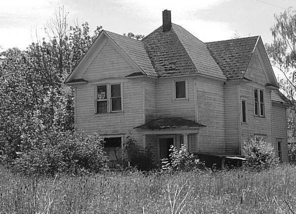 a real haunted house by christyrack dpchallenge. Black Bedroom Furniture Sets. Home Design Ideas
