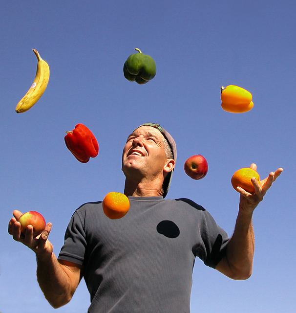 Juggling a Healthy Diet