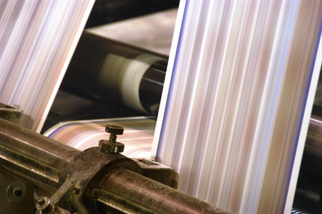 Printing @ 1800 feet per minute
