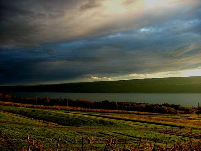 Seneca Lake Sunset