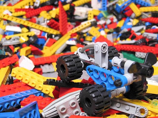 Buggy Vs Lego Mountain!