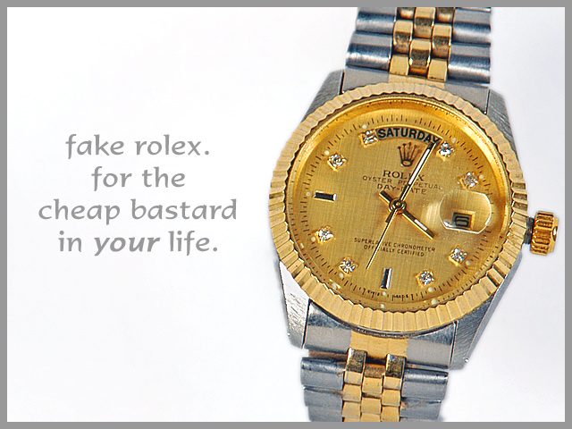 A fake Rolex in Baton Rouge