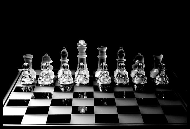 Chess in the dark