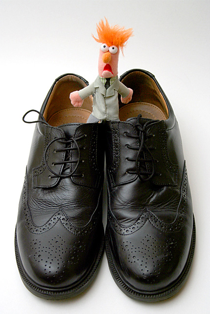 Big shoes to fill | Flickr - Photo Sharing