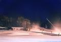 Snowmaking On Attitash Mountain 4:52am