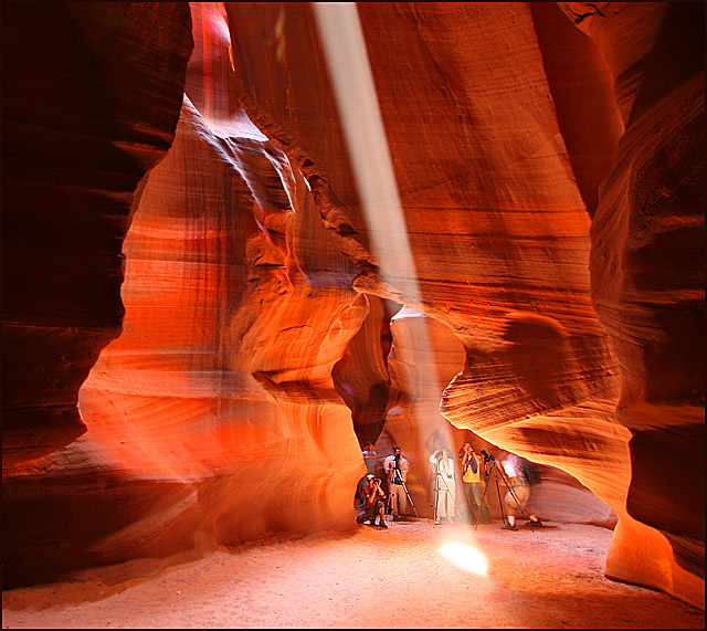 The Shooters Of Slot Canyon