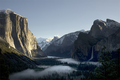 Fog on The Yosemite Valley
