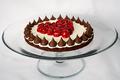Valentine  Chocolate-Cherry Torte
