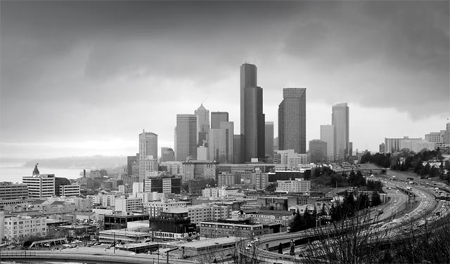 Winter in Seattle (Inspired by Henri Silberman)