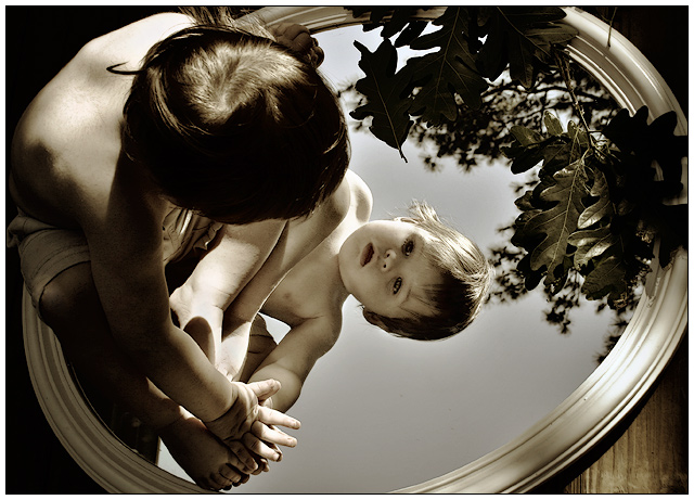 Child in Nature ~ Mirrors Redux