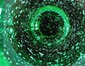 Matrix ? No, a glass of water