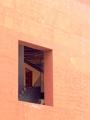 The door upstairs