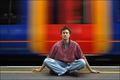 Meditating on platform 17