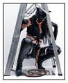 Black Cat Under The Ladder!