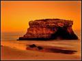 sunset at bird's rock