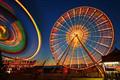 Carnival: Lines in a Wheel