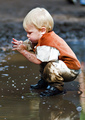 Pleasures of a Mud Puddle