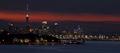 Auckland Cityscape at Dusk