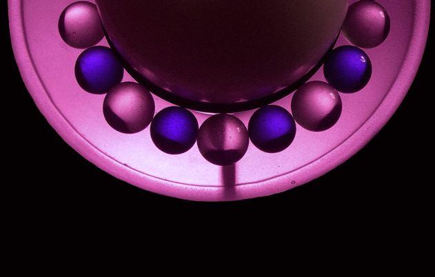 Violet Spheres