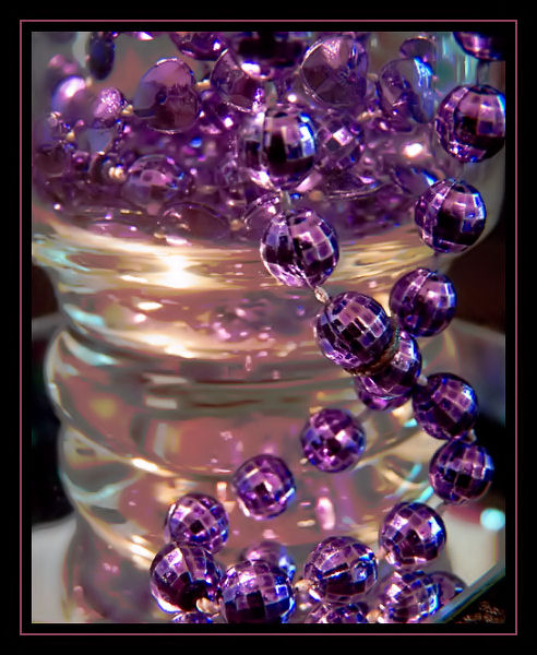 Purple Bead-dazzle