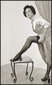 Seams? or Seam Free?  Nylons: 1955