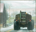 A Country Scene: The Manure Spreader