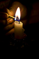 The Coal Miner's Candle