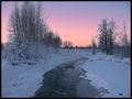Sunset on Ship Creek