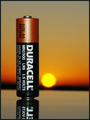 Duracell Sunset