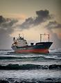 The stranded ship - Wilson Muuga