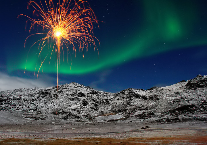 Fireworks of nature