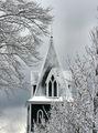 Snowy Steeple
