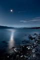 Moonrise over Aoraki / Mt Cook