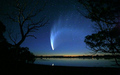 Exit the solar system. Comet McNaught. To return in 300,000 years.
