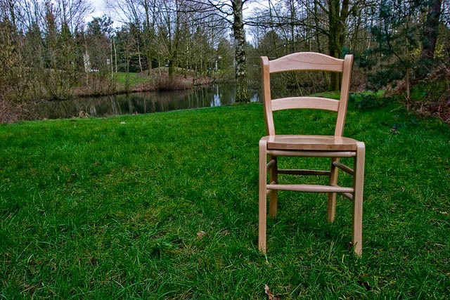 Chair with a view