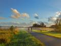 Dawn bike ride