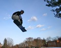 Langdon likes snowboarding
