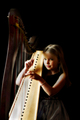 Portrait of a Harpist