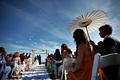 sunlit ceremony