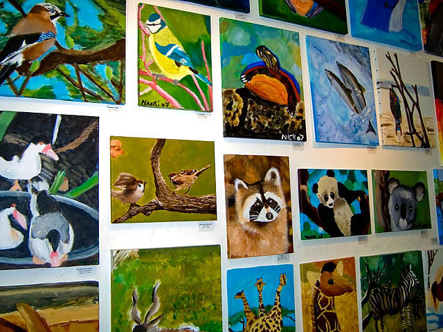 Colourful Exhibition