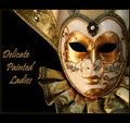 "Delicate Painted Ladies ""Behind the Mask"""