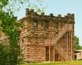 Castle-like County jail