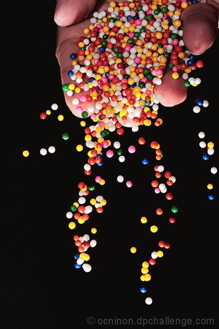 A Handful Sweet Colorful Balls