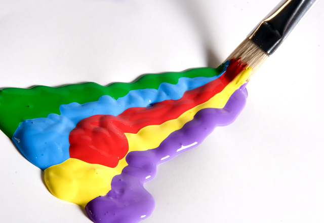 Burst of Paint