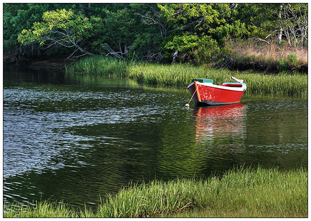 Red Skiff, Early Morning