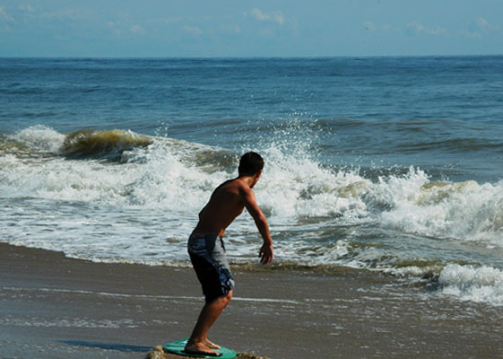 Surfin' the Waves