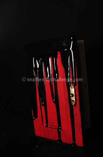 i see a red door and i want to paint it black by snaffles dpchallenge. Black Bedroom Furniture Sets. Home Design Ideas