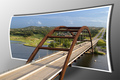 Pennybacker Bridge in 3-D