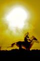 "Sun-flared layers of ""Dust Screens Intercepting Shadows"""